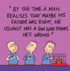 Dad Is Always Right Funny Card TW524